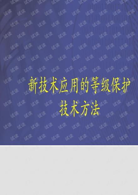 新技术应用等级保护技术方法.pdf