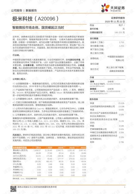 智能微投市场走俏,国货崛起正当时.pdf