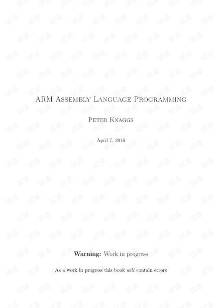 ARM Assembly Language Programming.pdf
