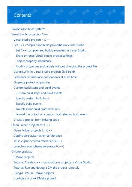 Manual for CPP Development in Visual Studio 2019
