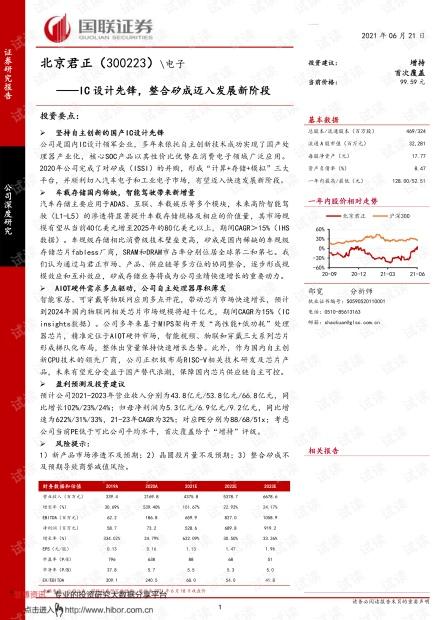 20210621-国联证券-北京君正-300223-IC设计先锋,整合矽成迈入发展新阶段.pdf