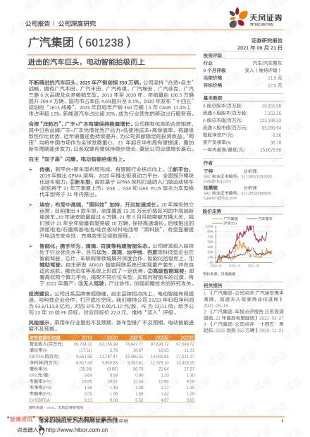 20210621-天风证券-广汽集团-601238-进击的汽车巨头,电动智能拾级而上.pdf