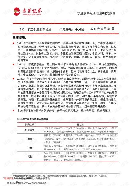 20210621-东莞证券-2021年三季度股票组合.pdf