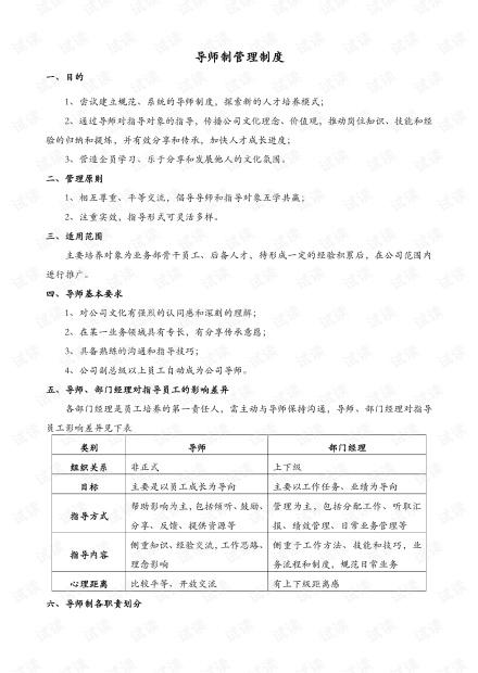 【制度】导师制管理制度.pdf