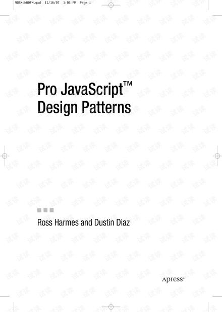 APress Pro JavaScript Design Patterns