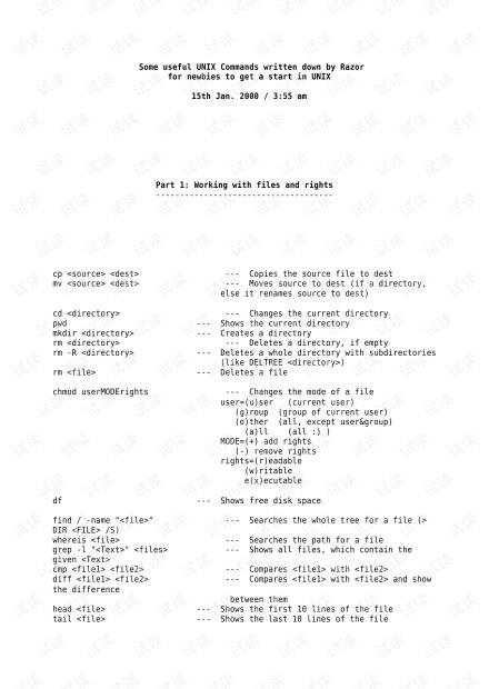 UNIX Commands for Beginners.pdf