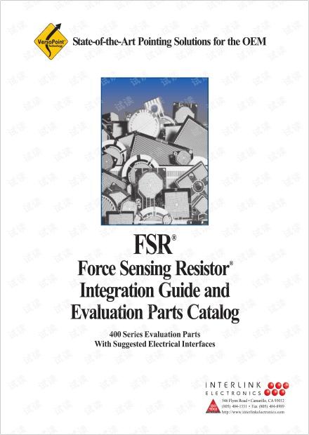 FSR压力传感器PDF