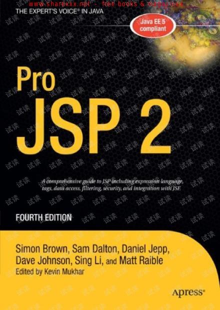 Apress.Pro.JSP.2.4th.Edition