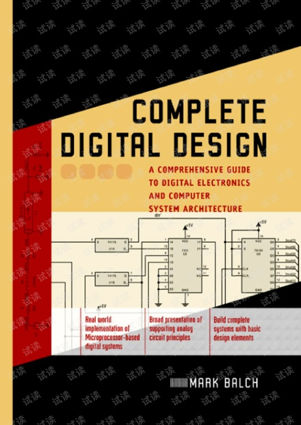 Complete Digital Design - A Comprehensive Guide to Digital Electronics and Computer System Architecture