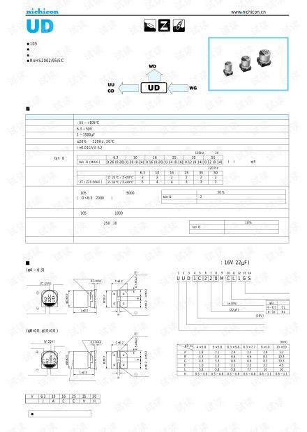 PCB设计专用贴片铝电解电容封装