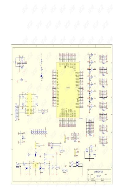 C8051F020原理图