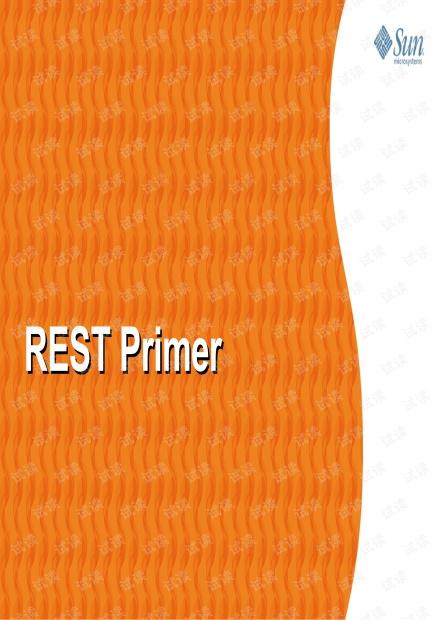 RESTful Web Service Primer