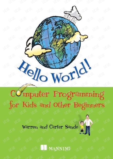 Python - Hello World! Computer Programming for Kids and Other Beginners by Carter Sande.pdf