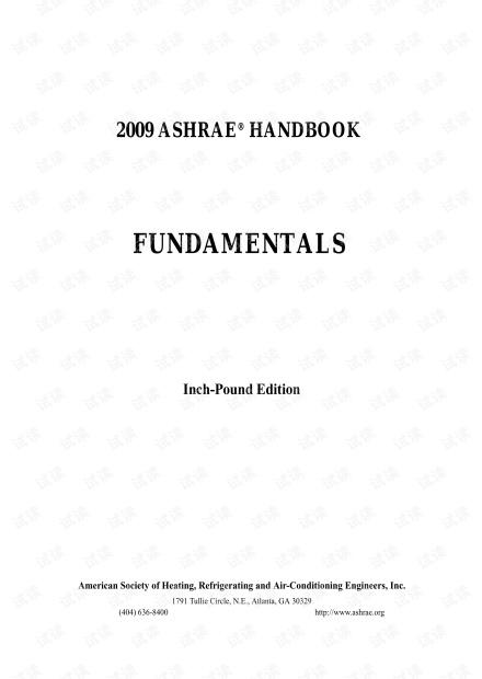 ASHRAE_2009_-_Fundamentals