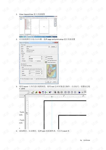 ArcMap专题图制作简明流程.pdf
