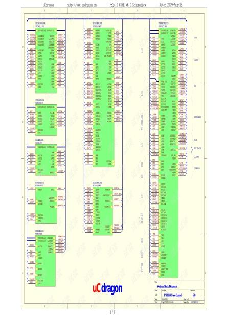 FS2410核心板原理图