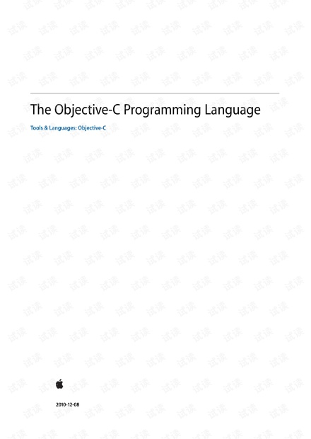Object-c 入门教程