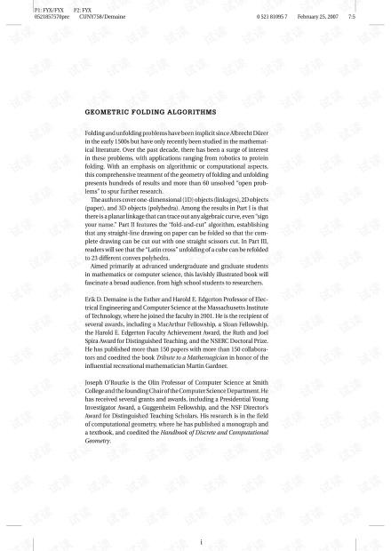 Geometric Folding Algorithms. Linkages, Origami, Polyhedra.(CUP, 2007).pdf