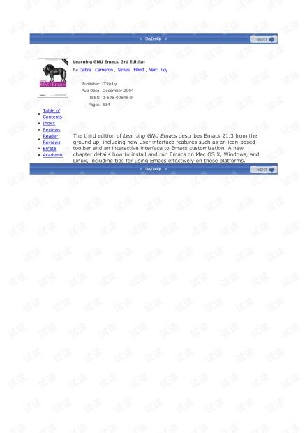 Learning.GNU.Emacs.3rd