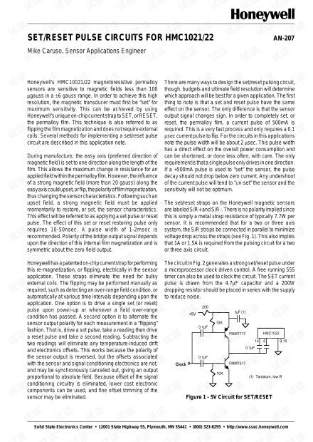 HMC1021-1022复位电路设计参考