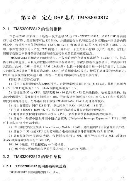 DSP芯片TMS320F2812介绍