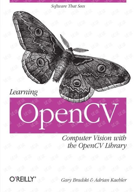 OPENCV電子書-詳細說明理論與實際的應用