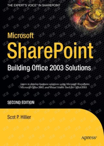 Apress.Microsoft.SharePoint.Building.Office.2003.Solutions.2nd.Edition.Jan.2006.pdf