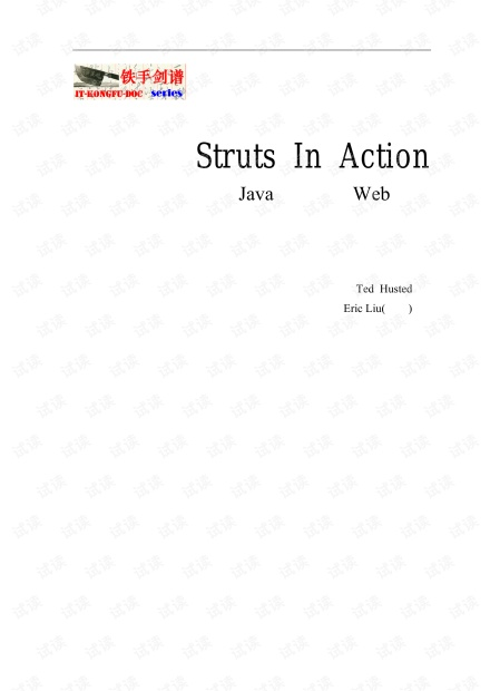 Structs in Action 中文版