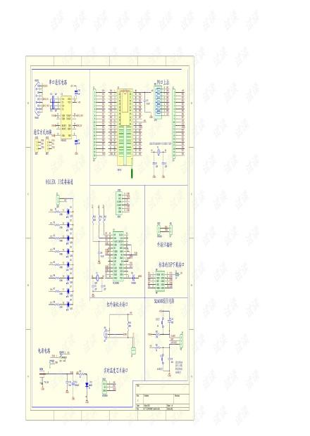 HY-mini51开发板原理图