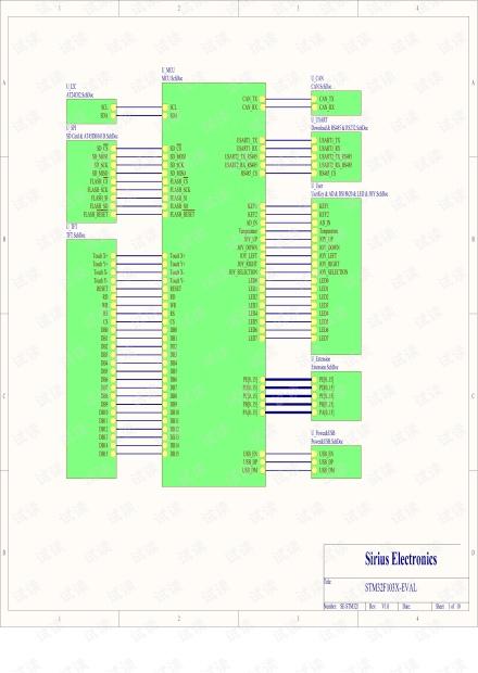 振南电子STM32原理图