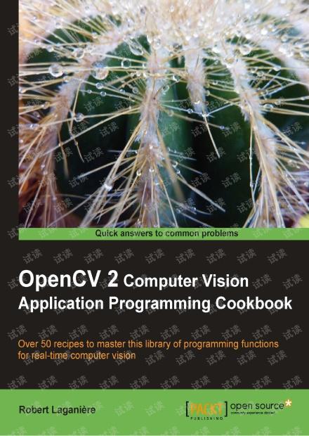 OpenCV2 经典入门书籍