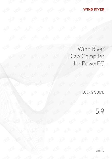 Wind River Diab Compiler for PowerPC