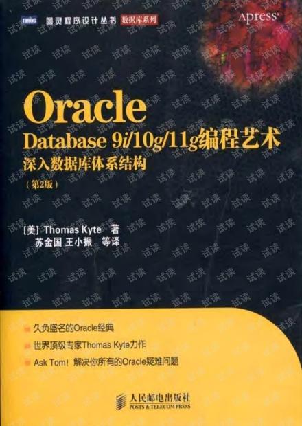 Oracle Database 9i10g11g编程艺术:深入数据库体系结构(第2版)--详细书签版