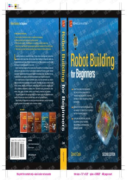 机器人制作入门.Robot.Building.for.Beginners