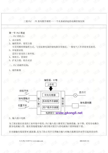 三菱PLC编程实例大全