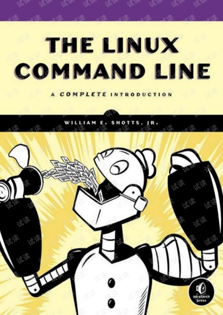 The Linux Command Line: A Complete Introduction, 2nd Edition(Linux命令行大全,第二版)