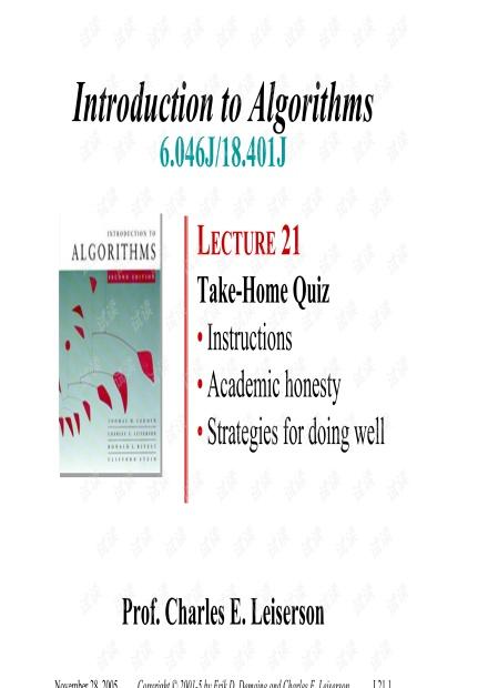MIT算法导论教学PDF课件.pdf
