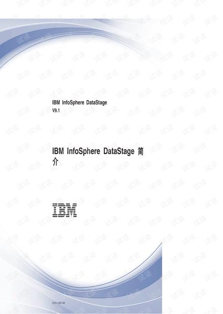 IBM DataStage v9.1简介(官方文档)