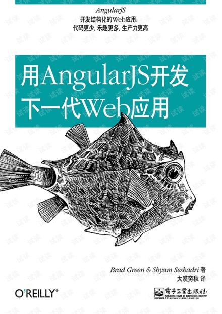 用AngularJS开发下一代Web应用(中文)高清完整版PDF
