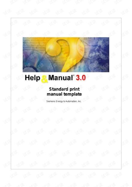 西门子PLC编程手册