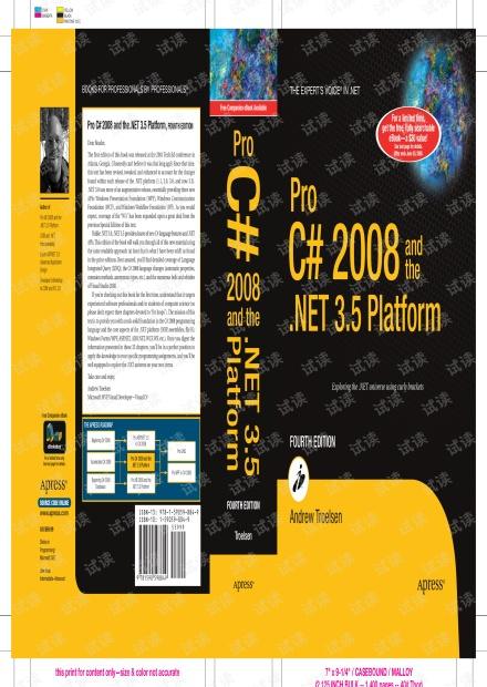 Pro C# 2008 and the .NET 3.5 Platform, Fourth Edition