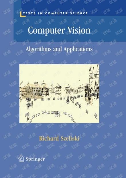 Computer Vision: Algorithms and Applications 2011