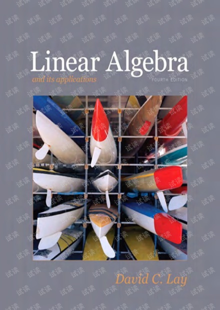 Linear Algebra and Its Applications by David C.Lay