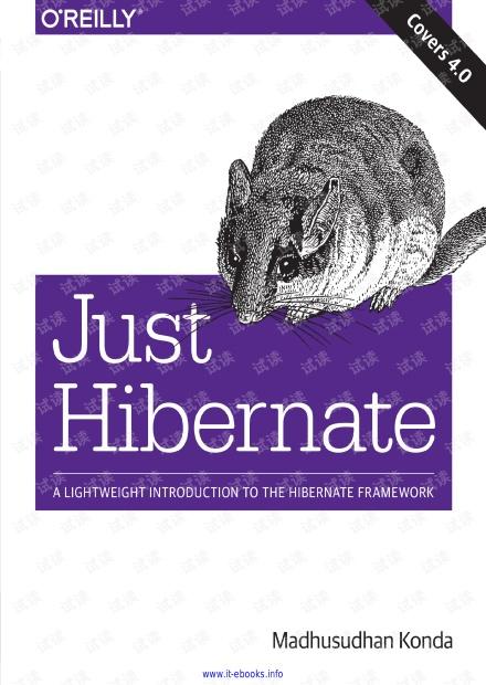 Just Hibernate
