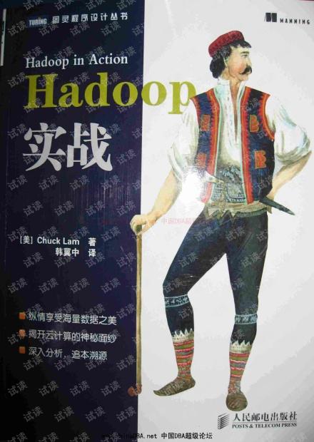 hadoop实战中文版 电子版pdf