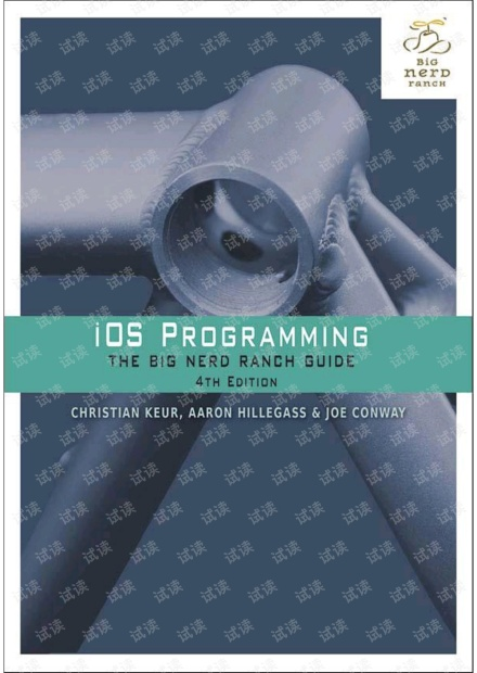 iOS Programming: The Big Nerd Ranch Guide (4th Edition)