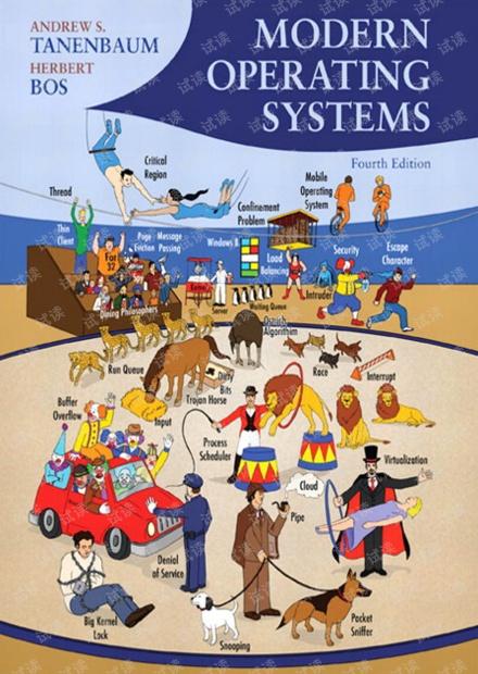 现代操作系统 (英文版 第4版)Modern Operating Systems (4th edition)