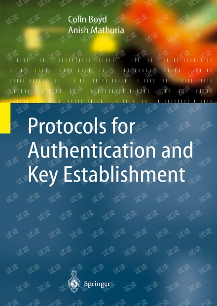 Protocols for Authentication and Key Establishment