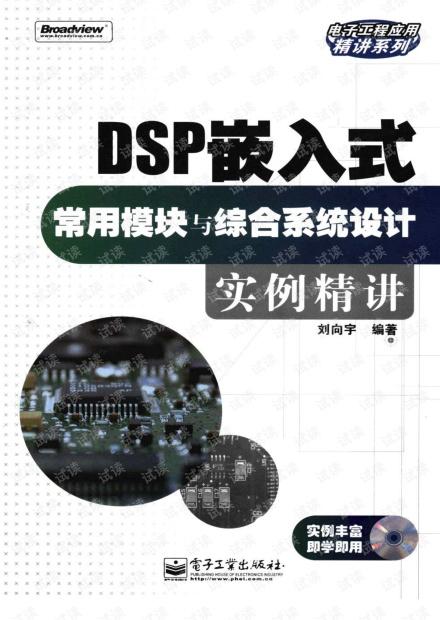 DSP嵌入式常用模块与综合系统设计实例精讲 419页 56.6M 清晰书签版