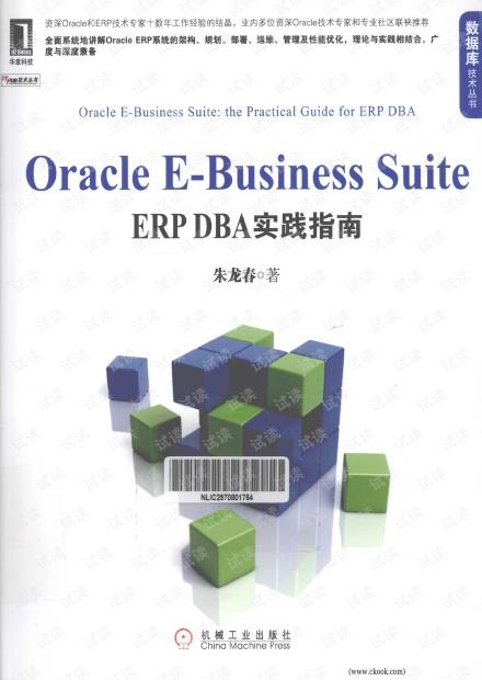 Oracle E-Business Suite:ERP DBA实践指南 (朱龙春) 高清PDF扫描版